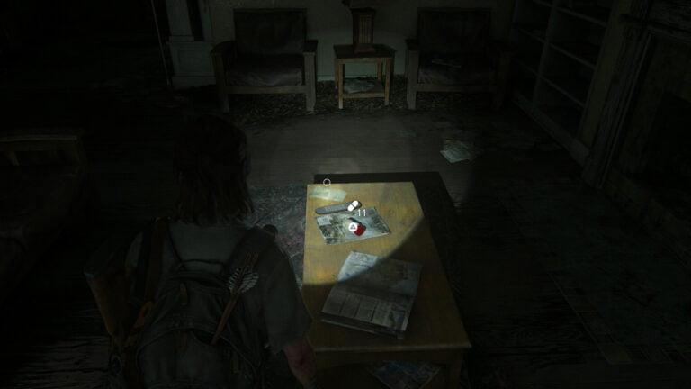 11 Zusätze auf dem Wohnzimmertisch in Boris' Haus in The Last of Us 2