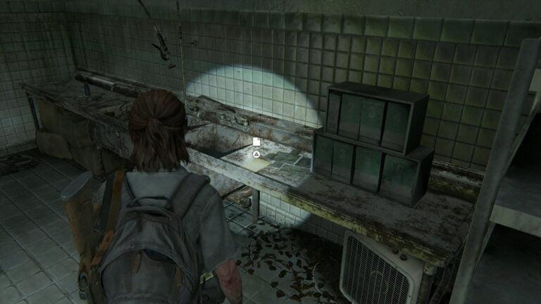 16 Zusätze im Behandlungsraum der Pet Boutique in The Last of Us 2