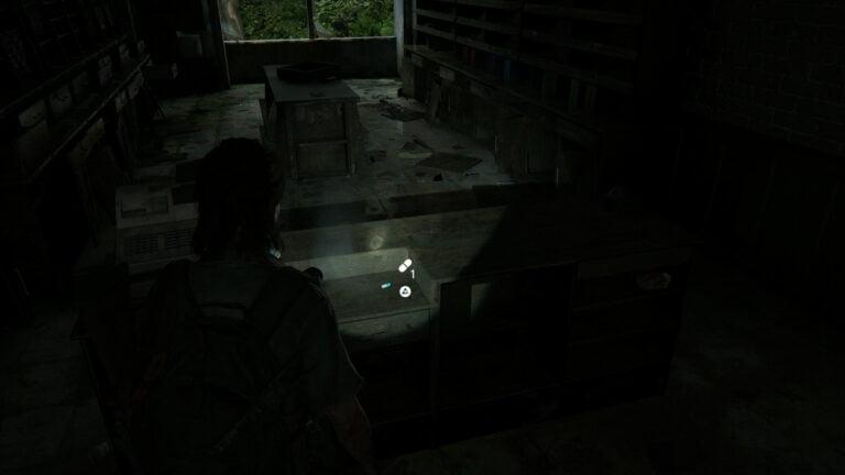 2 Zusätze im Verkaufstresen von Caroline Paper Co. in The Last of Us 2