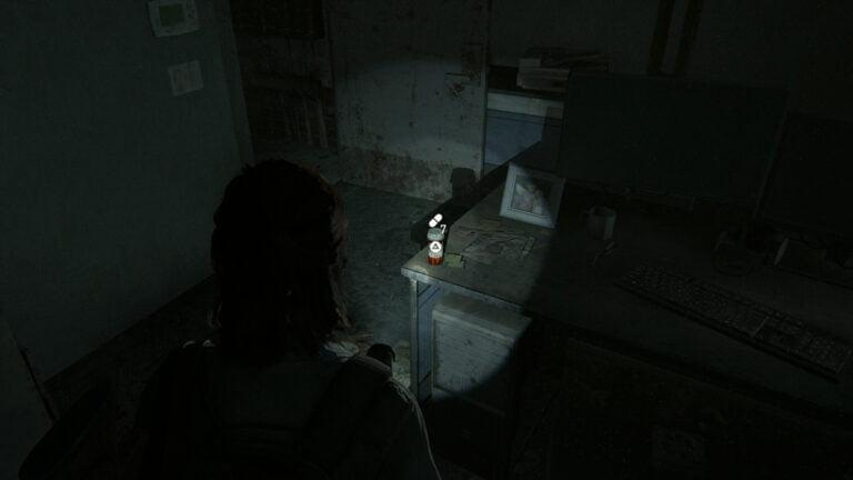 7 Zusätze im Büro der Autowerkstatt in The Last of Us 2