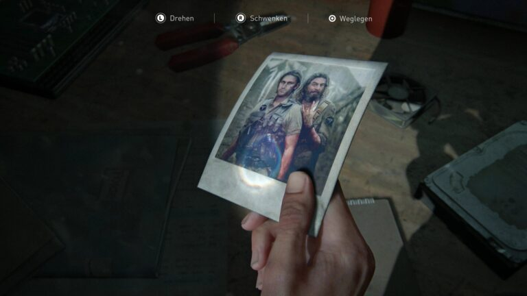 Artifact Photo of Eugene and Tommy in The Last of Us 2