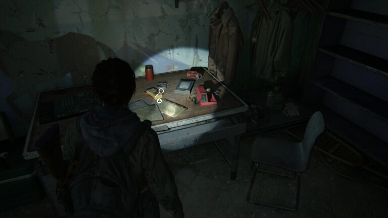 Artifact Photo of Eugene and Tommy on the desk in the children´s book section of the library in The Last of Us 2