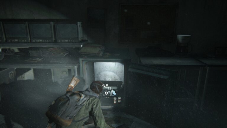 The contents of the first safe in The Last of Us 2
