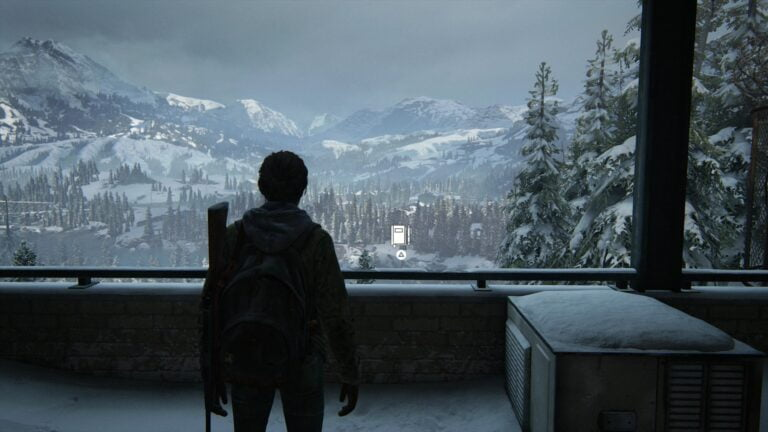 Location Journal entry on the balcony of the National Radio Array Station in The Last of Us 2