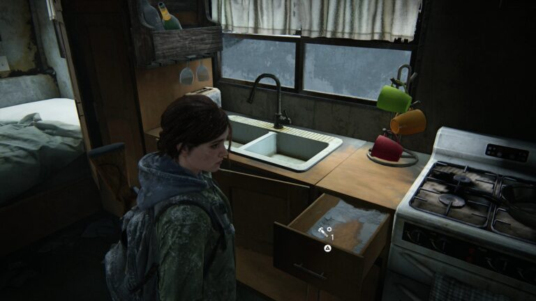 Upgrade part in the trailer in The Last of Us 2