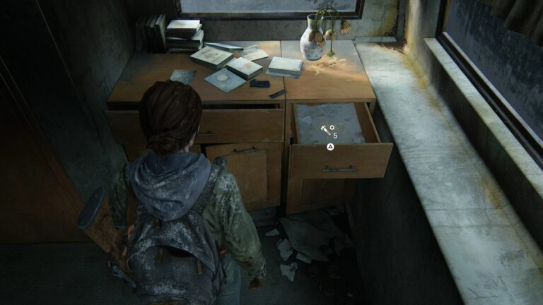 several upgrade parts in the trailer in The Last of Us 2