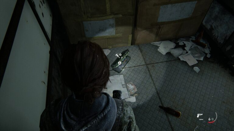 Upgrade-parts in a box inside a truck in The Last of Us 2