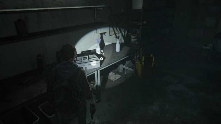 Upgrade parts in the storeroom of Green Place Market in The Last of Us 2