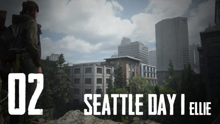 The Last of Us 2 – Seattle Day 1 (Ellie): Collectibles, Maps, Safes, Workbenches & more