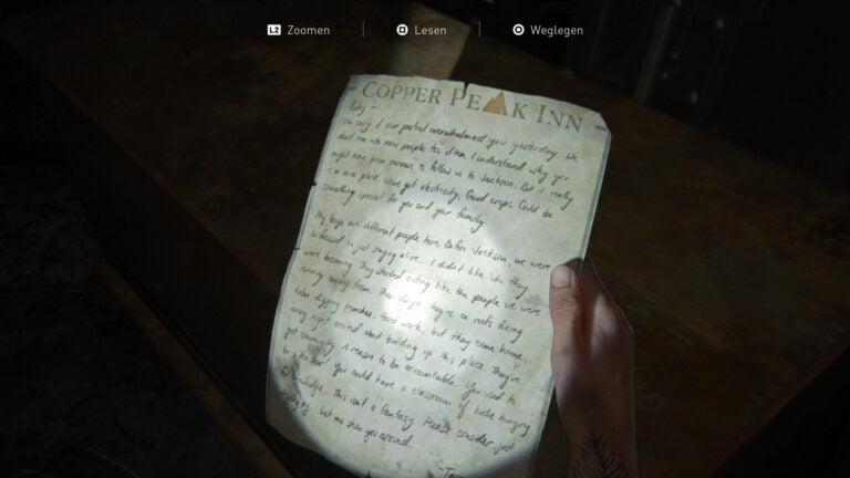 "Das Artefakt ""Taras Einladung"" in The Last of Us 2"