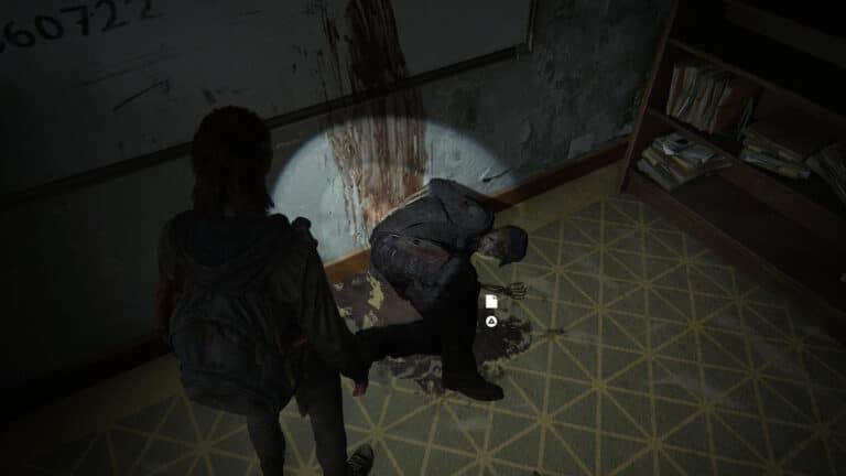 Lt. Torres Final Memorandum is right next to the corpse in The Last of Us 2.