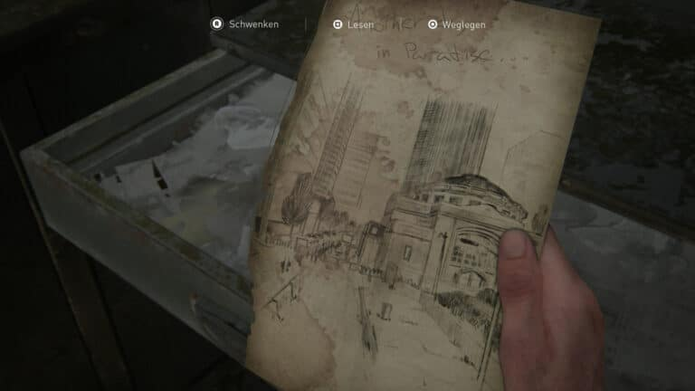 The artifact Street Drawing in The Last of Us 2.