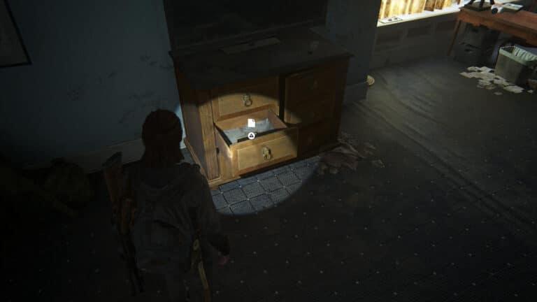In der Schublade unter dem Fernseher das Artefakt Tagebuch eines WLF-Rekrutierers