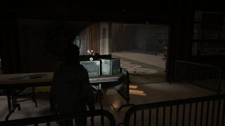 Upgrade parts on the center table in the synagogue in The Last of Us 2
