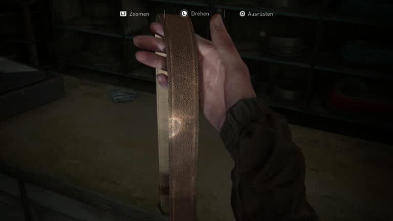 Das Gewehrholster in The Last of Us 2