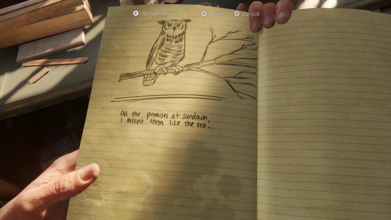 Journal entry about Joel´s guitar in The Last of Us 2