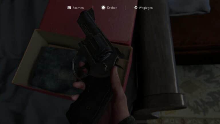 Joels Revolver aus The Last of Us 2