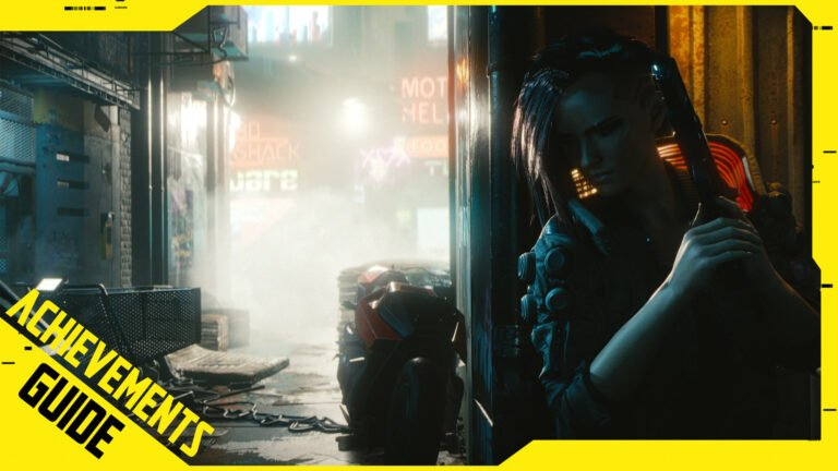 Cyberpunk 2077-Achievement-Guide by SPACE4GAMES.