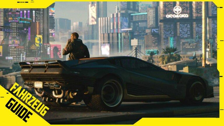 Cyberpunk 2077 Fahrzeuge: Alle Autos, Motorräder & Fundorte