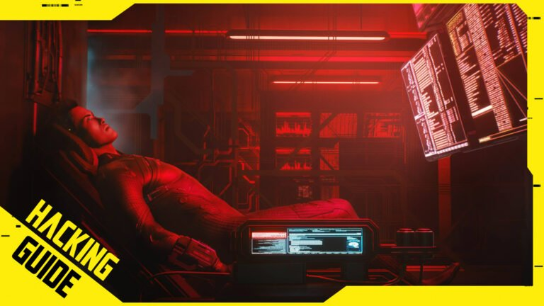 Cyberpunk 2077 Hacking-Guide by SPACE4GAMES.