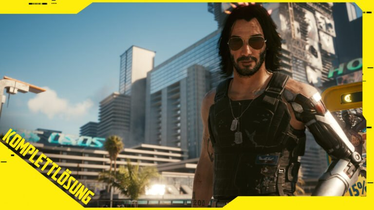 Cyberpunk 2077 Lösung: Der komplette Walkthrough