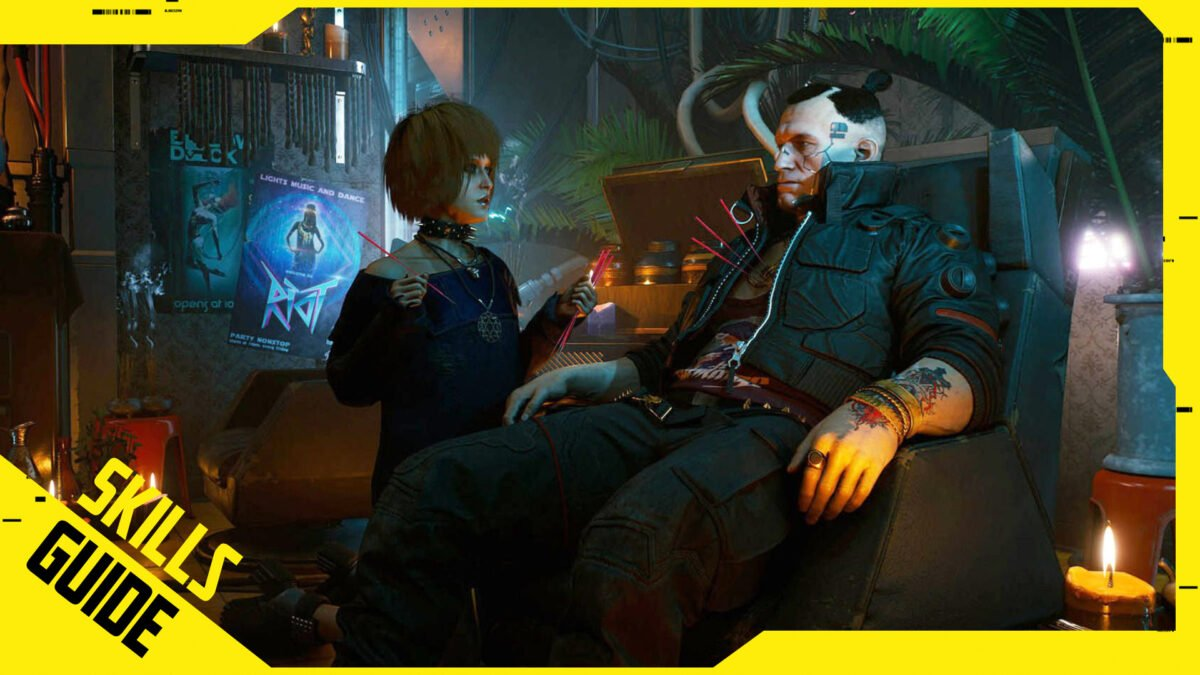 Cyberpunk 2077 Skill-Guide by SPACE4GAMES.