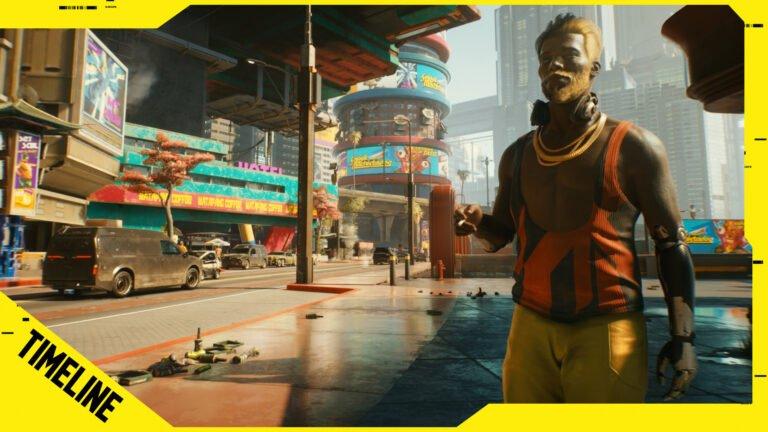 Cyberpunk 2077 Timeline: Geschichte von Night City & der Spielwelt