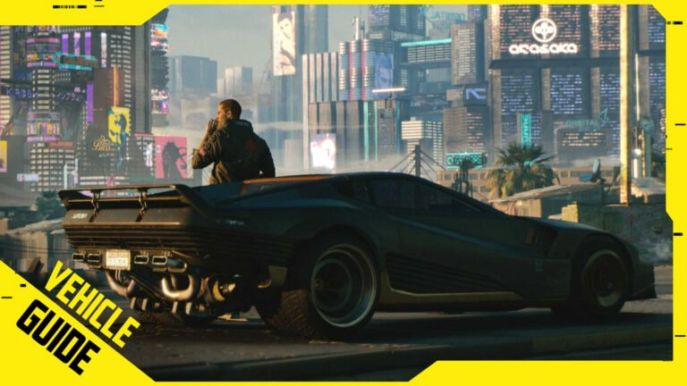 Cyberpunk 2077 Vehicles: All Cars, Motorcycles & Locations
