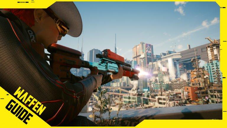 Cyberpunk 2077 Waffen-Guide mit Mods & ikonischen Waffen