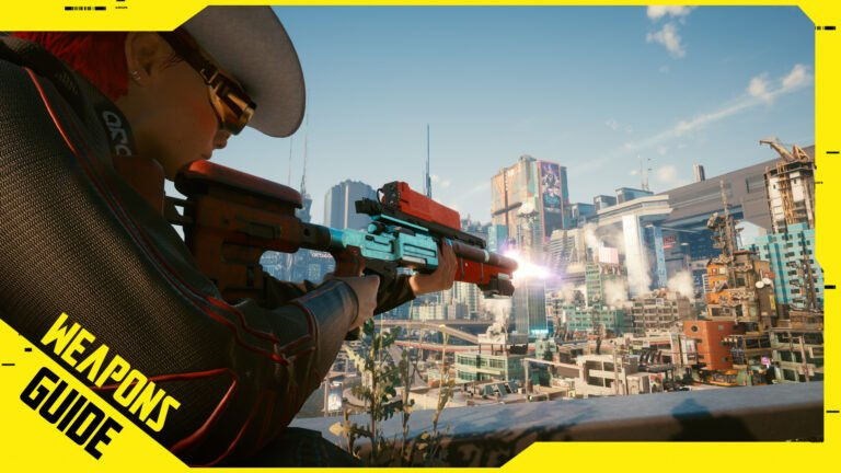 Cyberpunk 2077 Weapons Guide with Iconic Weapons & Mods