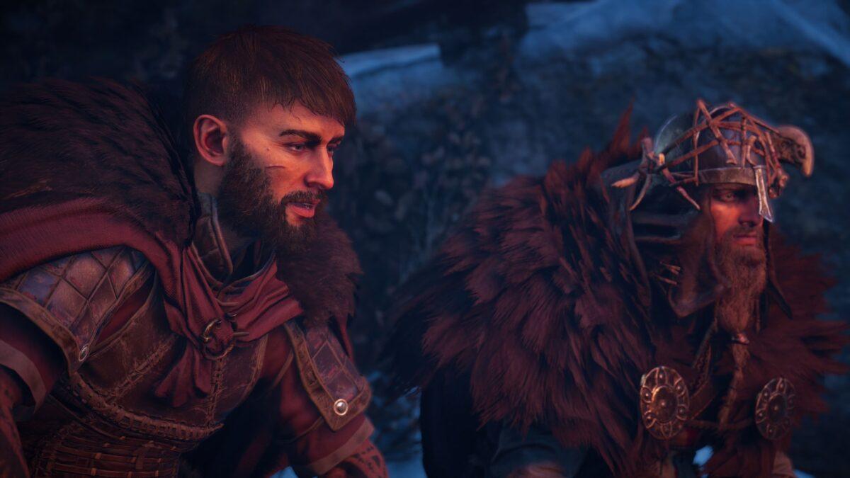 Vili und Eivor unterhalten sich in Assassin's Creed Valhalla.