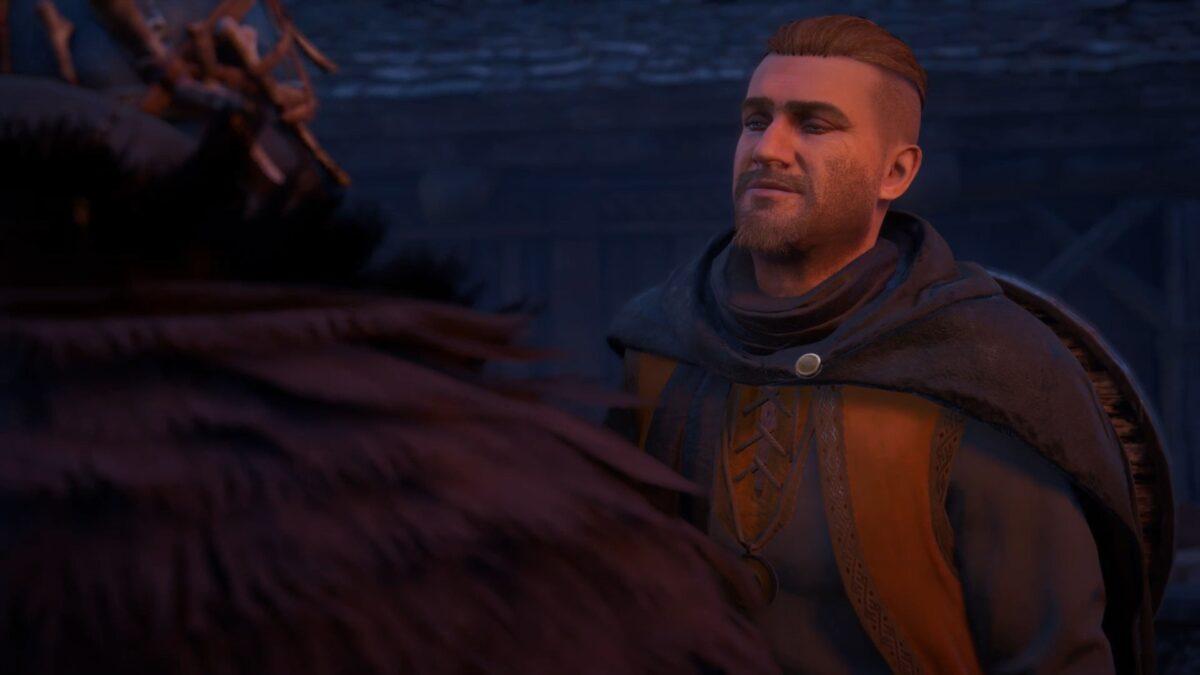 Stig, der Liebestolle im Spottstreit mit Eivor in Assassin's Creed Valhalla