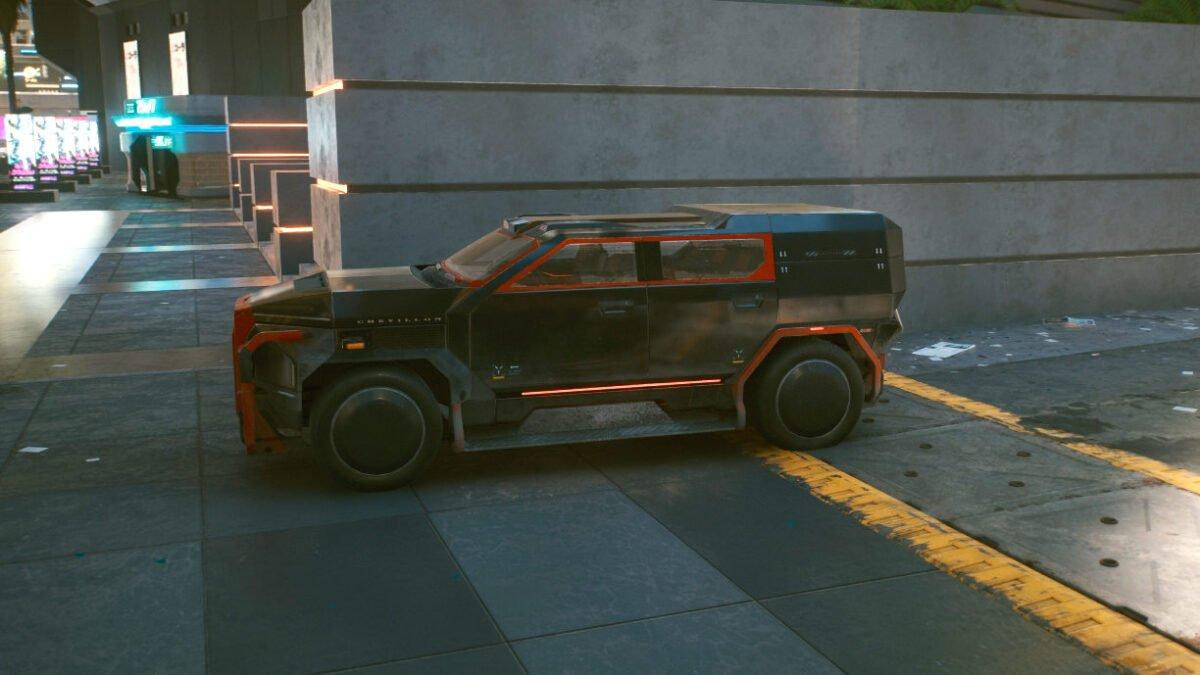 Cyberpunk 2077 Fahrzeuge Chevillon Emperor 620 Ragnar