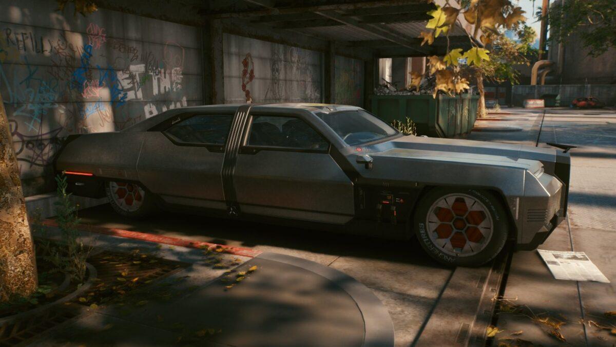 Cyberpunk 2077 Fahrzeuge Chevillon Thrax 388 Jefferson
