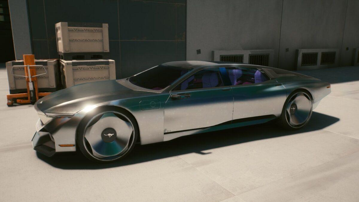 Cyberpunk 2077 Fahrzeuge Herrera Outlaw GTS