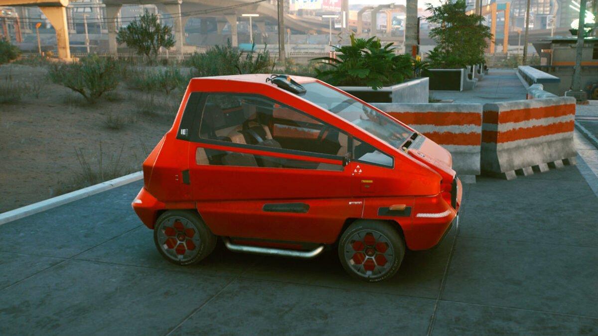 Cyberpunk 2077 Fahrzeuge Makigai Maimai P126