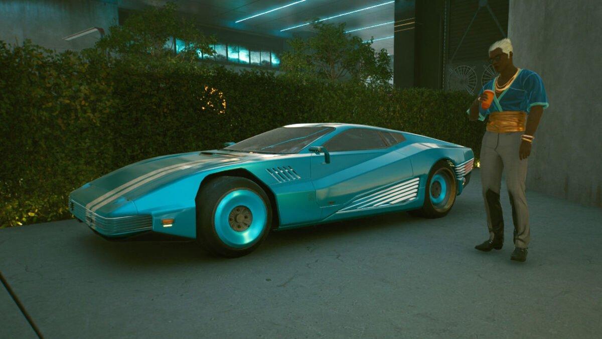 Cyberpunk 2077 Fahrzeuge Quadra Turbo-R 740