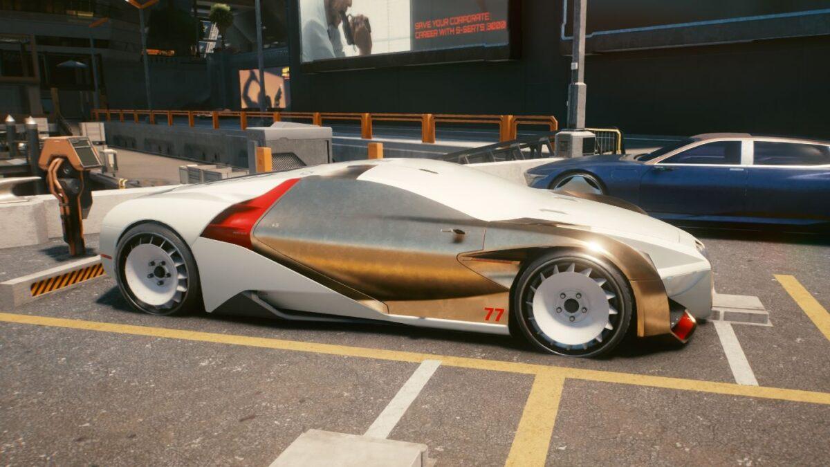 Cyberpunk 2077 Fahrzeuge Rayfield Caliburn