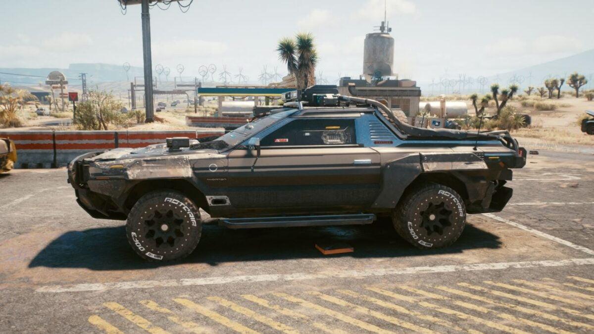 """Cyberpunk 2077 Fahrzeuge Thorton Colby """"Little Mule"""""""