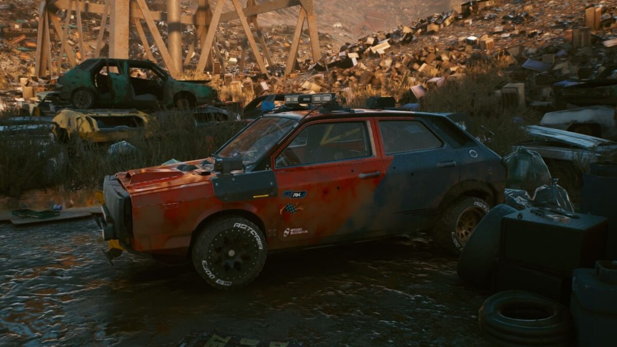 "Cyberpunk 2077 Fahrzeuge Thorton Galena ""Rattler"""