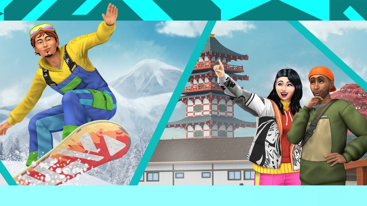 Sims 4 Ab ins Schneeparadies