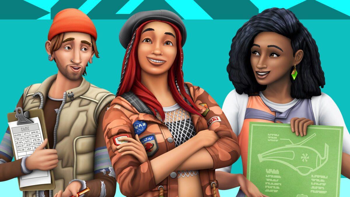Sims 4 Erweiterungspack Nachhaltig leben Cover