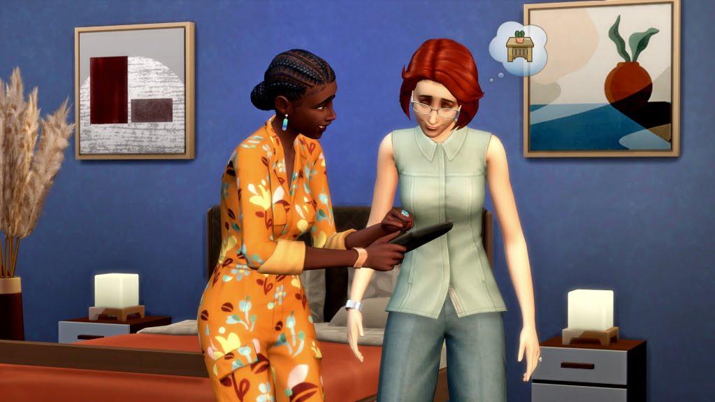 Sims 4 Traumhaftes Innendesign Innendesignerin stellt Kundin Designvorschläge vor